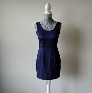 Vintage Navy My Michelle Mini Dress